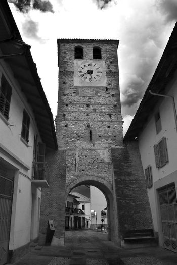 Italy Italian Europe European  Black And White RivaltaDITorino Rivalta Torino Architecture Built Structure Building Exterior Building Sky Religion Day Residential District Spirituality No People Arch The Past Old Stone