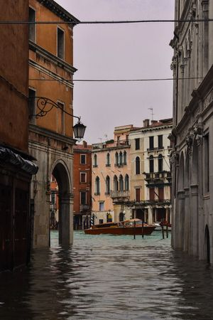 Acqua alta part 2 Venice, Italy Venezia Lightroom Acqua Alta Architecture Building Exterior Built Structure Building City Residential District Water Waterfront