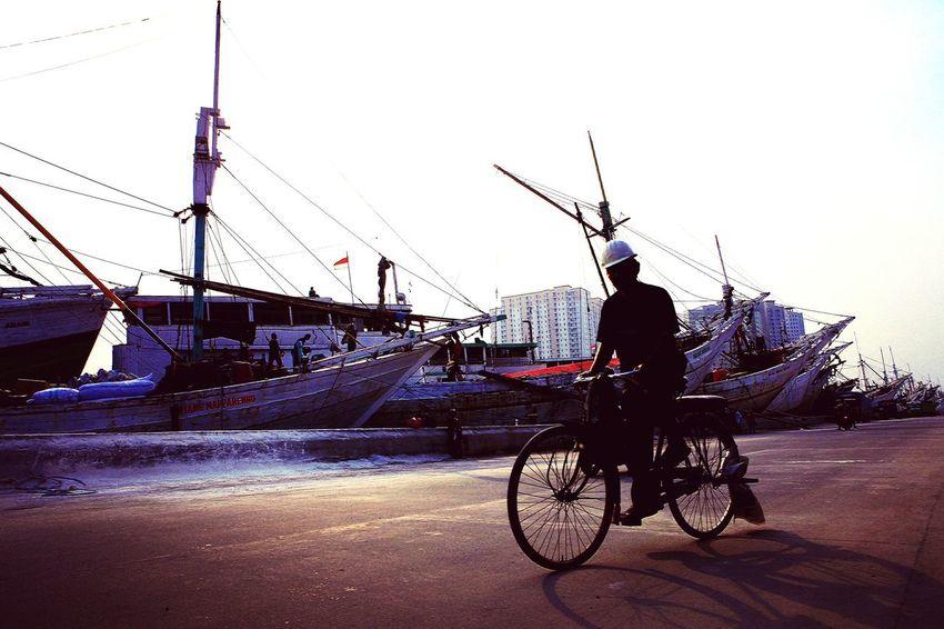 Sepeda ontel Indonesia