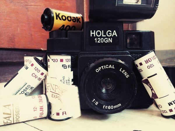 Holga Vintage Contributor Photography Escape Habit Snap