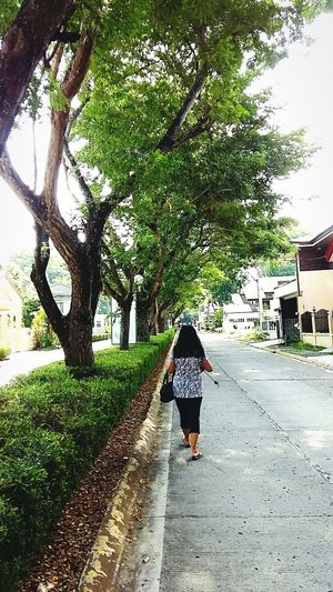 Sunday Morning Going Out For A Walk Davao City