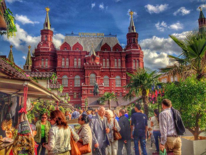 Красавица Москва