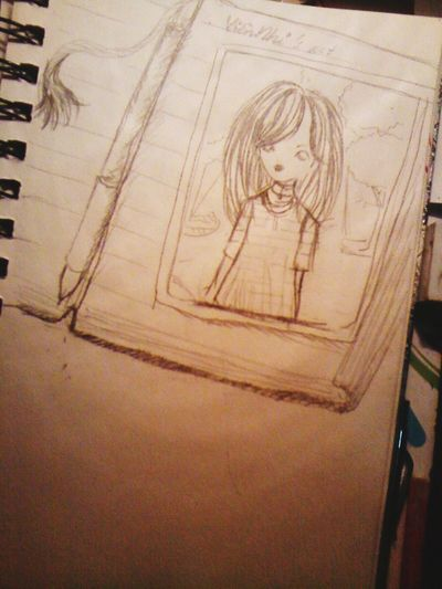 Girl Art, Drawing, Creativity Art Work