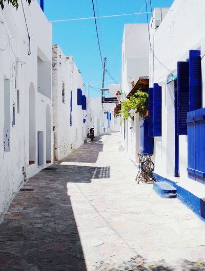 Koufonisia Hello World Kyklades Kyklades Islands White & Blue Koufonisi Vacation Time GREECE ♥♥ Greece Islands Walking Around Sokaki View