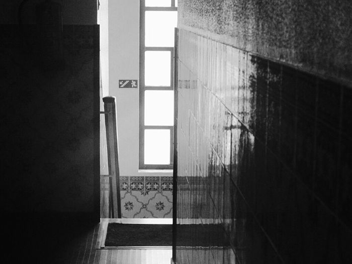 Window Shadows & Lights Stairs Wall Home Interior No People Indoors  Wall Reflections Black & White Black And White Blackandwhite Photography Taking Photos Pattern