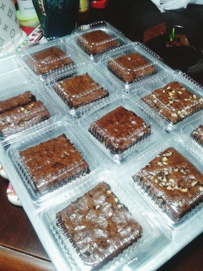 Brownies Baked Yummy Sweet And Spicy