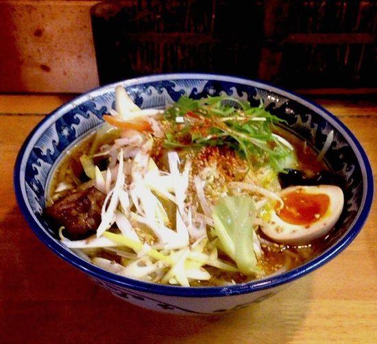 田能久 野菜ラーメン味噌