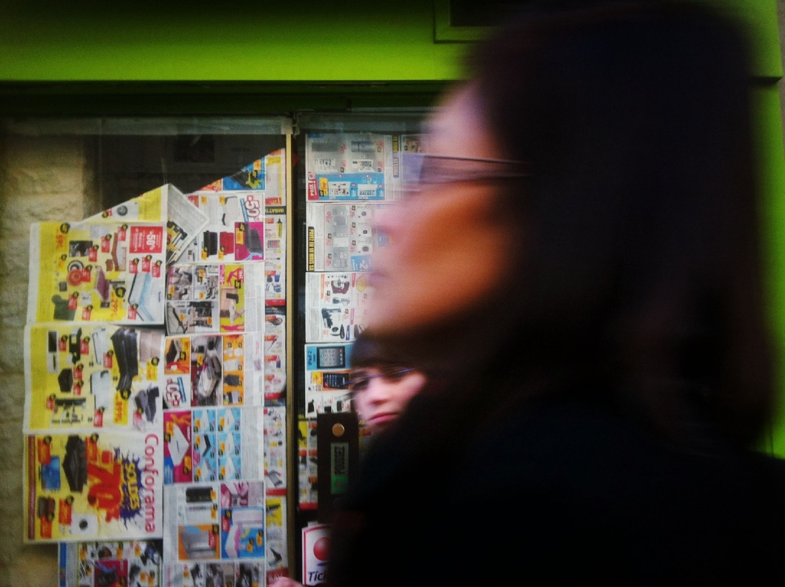 text, western script, communication, store, indoors, non-western script, retail, lifestyles, shop, men, person, architecture, display, market, built structure, shopping, variation, choice