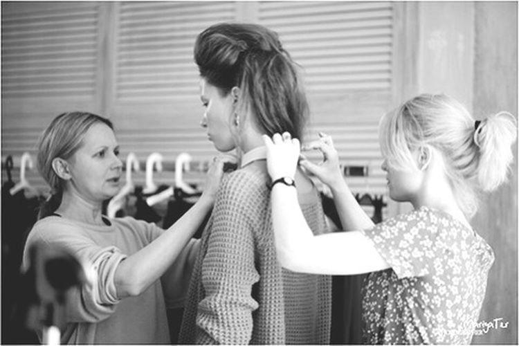 Backstage Photoshoot Shooting Modeling