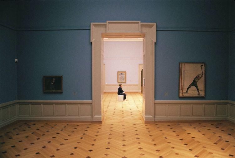 Museum mood. Museum Mood Art People