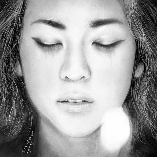 My next object Sandara 2NE1 Cry Hurt gothic