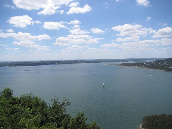 Austin, TX Cloud - Sky Day Lake Travis Nature Outdoors Sky