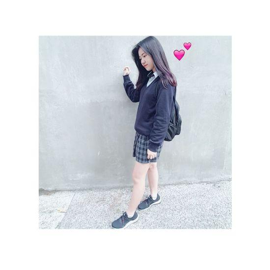 From Taiwan🇹🇼 Sunny☀ School ✌ Goodmood♥ Happy :) Enjoying Life Uniform Unif