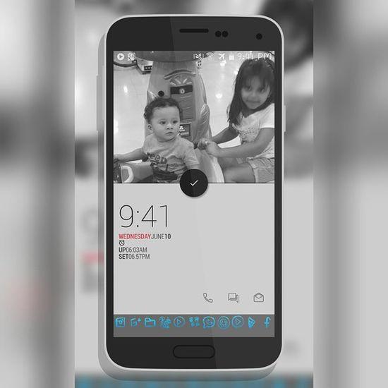 Samsung Galaxy S5 Todays Screen Setup Özil Rida Klwp