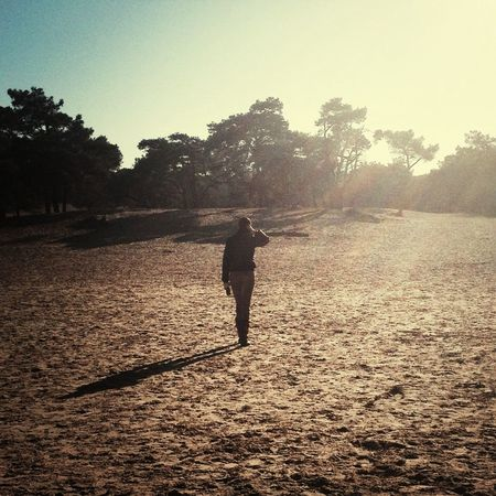 Talking a walk Desert Dunes SandNational Park