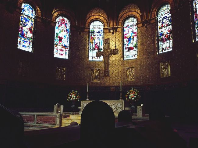 Boston Churches city from the inside is stunning