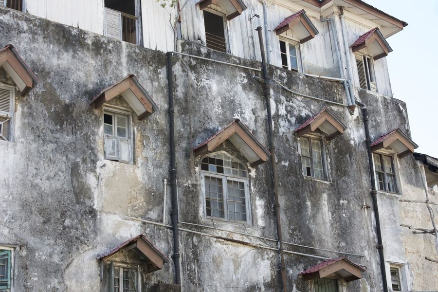 Architecture Bad Condition Building Exterior Buildings & Sky Built Structure Day No People Old Stone Town Wall - Building Feature Window