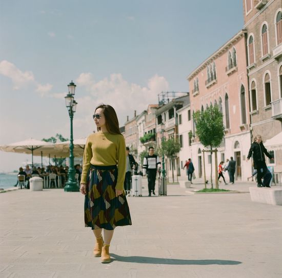 120 Format Film Fujifilm Pro 160NS Haselblad 500CM Italy Medium Format Outdoors Venice Women