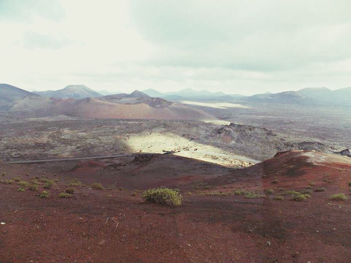 Lanzarote Zimanfia Volcano Volcán