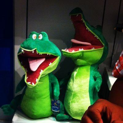 I want one of these!!! 🐊 Stuffedanimal Peterpan IWant Needmoney oc fun imaweirdo cute simplybeingalice