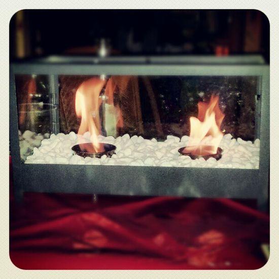 Tischfeuer #Ethanol Fire Fireplace Ethanol