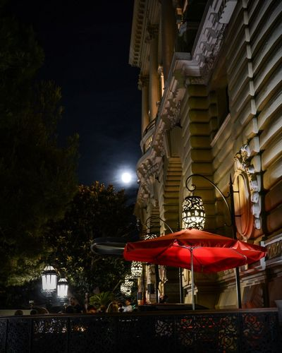 Midsummer Night Night Moon Outdoors Sky Illuminated Relaxing Time Buddha Bar Monaco_Principaty Montecarlobay Montecarlocasino No People EyeEm Best Shots EyeEmNewHere Summertime Travel Destinations Food And Drink Colorful EyeEm Masterclass Luxuryhotel Luxury Lifestyle Luxury Life