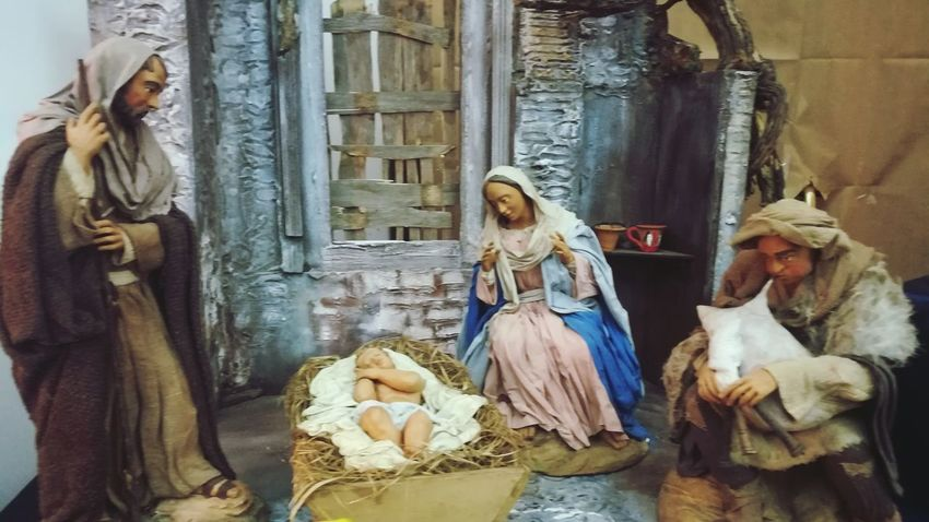 Presepio Nativity Scene Nativity No People Indoors  Architecture Day