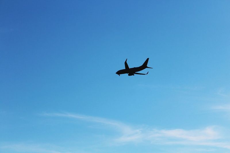 Flying Low Angle View Blue Sky Outdoors Airplane Day Airshow No People Air Vehicle Close-up Nature Fighter Plane