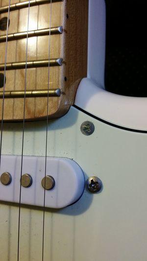 Guitar Strat Stratocaster Maple Neck Jamming Electric Guitar Fender Rock Instrument Musical Instruments Music