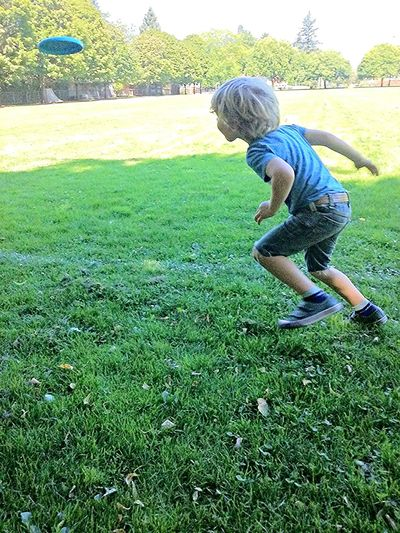 Park Scenario Frisbee PNW PortlandOregon NEportland