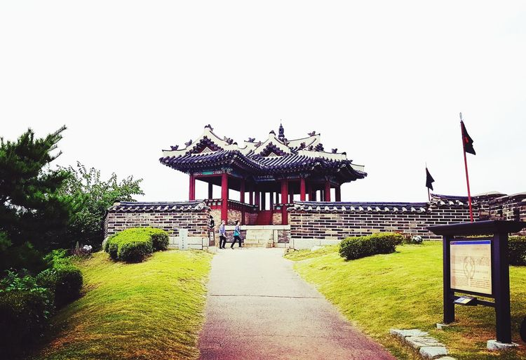 Stop and take in the beauty South Korea Korea Suwon 한국 수원 Travel Destinations Travel Traveling Travel Photography Travelling Travelphotography Traveler History History Through The Lens  History Architecture Historical Building Korean Korean Traditional Architecture Photo Photography Photooftheday Photographer Throughmyeyes Flag Day Outdoors No People Sky Nature Carousel