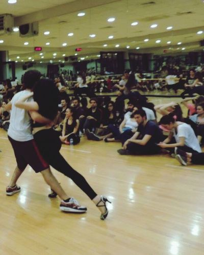 Dance Rehersal Show Prova