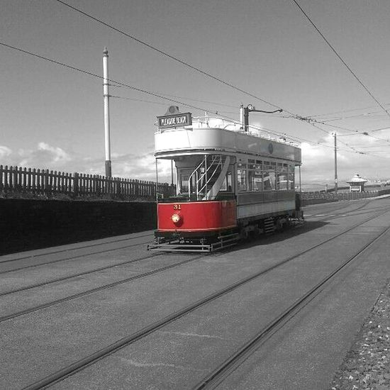 Old tram Blackandwhite Photography Coloursplash Smartphonephotography