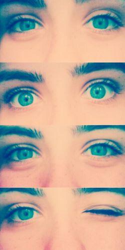 Blue Eyes Blue Pretty Cool Eye's
