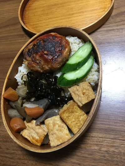 お弁当(*´艸`) 煮物 Goron Kitchen お弁当 No Filter, No Edit, Just Photography EyeEm Best Edits Moto Life 手作り Food And Drink Food Healthy Eating Table Indoors  Freshness Still Life
