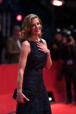 Berlin, Germany - February 24, 2018: German actress Marie Baeumer attends the closing ceremony during the 68th Berlinale International Film Festival Berlin 2018 at Berlinale Palast 3 Days In Quiberon 68th Berlinale Beautiful Closing Ceremony Event Fame Famous Fashion Marie Baeumer Press The Media Actress Arts Culture And Entertainment Berlinale Berlinale 2018 Berlinale Festival Berlinale2018 Berlinale68 Cinema Events Mass Media Media Paparazzi Red Carpet Red Carpet Event