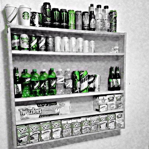 Only Green, Awesome lol :P Monster Energy Mountain Dew All Green Everything Green