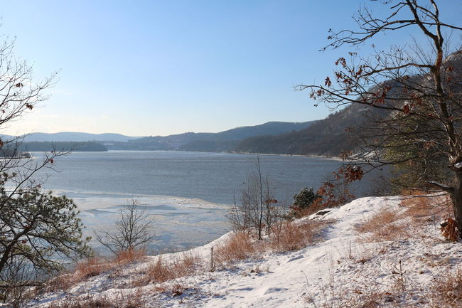 Clifftop Hiking Hudson River Hudson Valley Ice Ice Sheets Little Stony Point Mountain Mountains Nature Nature Photography New York No People Outdoors Snow Snow Covered Snowcapped Mountain Winter