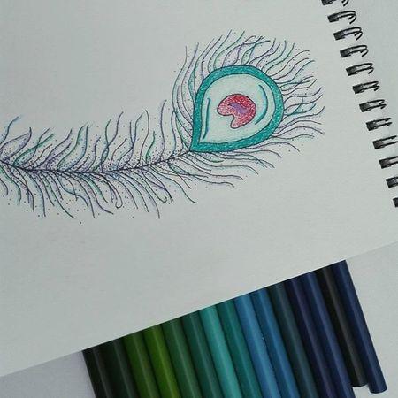 Inktoner day 26 Inktober Inktober2015 Drawing Doodle Ink Feathers