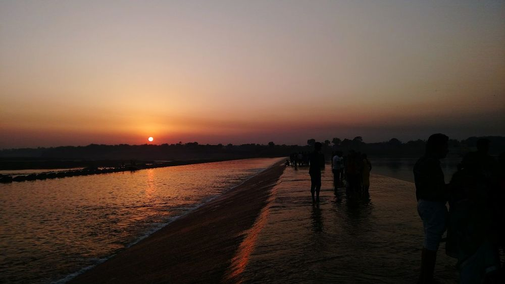 This is the 1'st Sunset... Pic click by my mobile... First Eyeem Photo