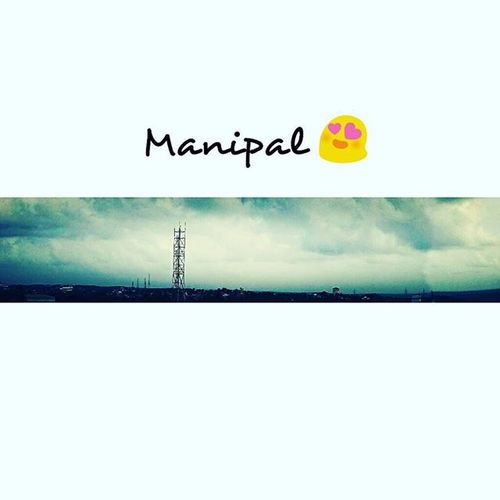 Look up to the sky 👀 You'll never see rainbows on the ground 🌈 😊 Sky Manipal Thatview 😚 Kbyenow ✌