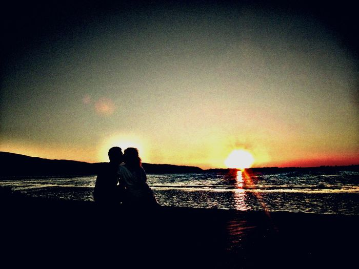 Landscape Silhouette Sunset Scenics Non-urban Scene Tranquility Tramonto Argentario Eyeemphoto Orbetello Loveyou Love ♥ Love To Take Photos ❤ Love <3