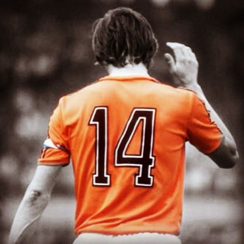 Rip Johan Cruyff Tribute Honored Leyend Futball Futbol