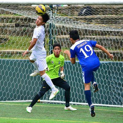@cunananrafael ⚽ . . . UAAP Uaap77 Uaapseason77 ADMUvsUST juniors ateneo AdMU UST uste sbspotlight soccerbible football themanansala