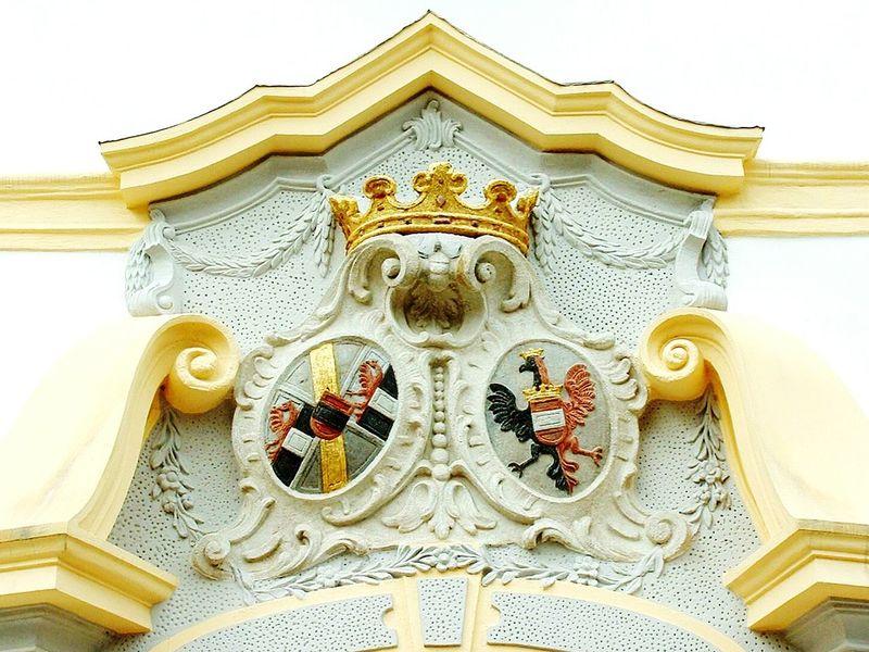 Dečin City Emblem Architecture House