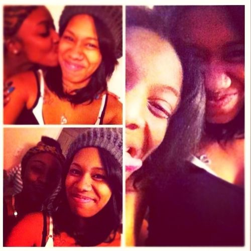 Turnt up with the bestie for her birthday.!!!!