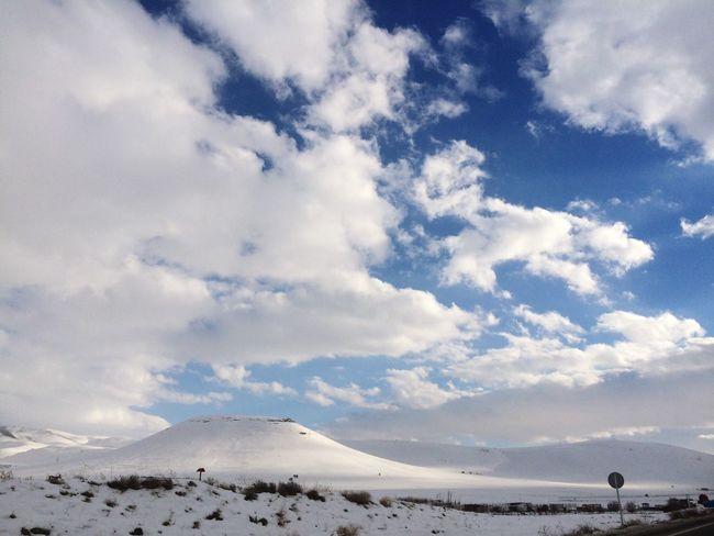 Sky Montagne Neighborhood Neige Photography First Eyeem Photo Iran Iran♥ Iran Nature Saqqez Paysage Beautiful Sky Cielo Ciel