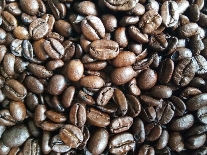 Backgrounds Full Frame Textured  Close-up Coffee Bean Roasted Coffee Bean Coffee Crop Ground Coffee Black Coffee