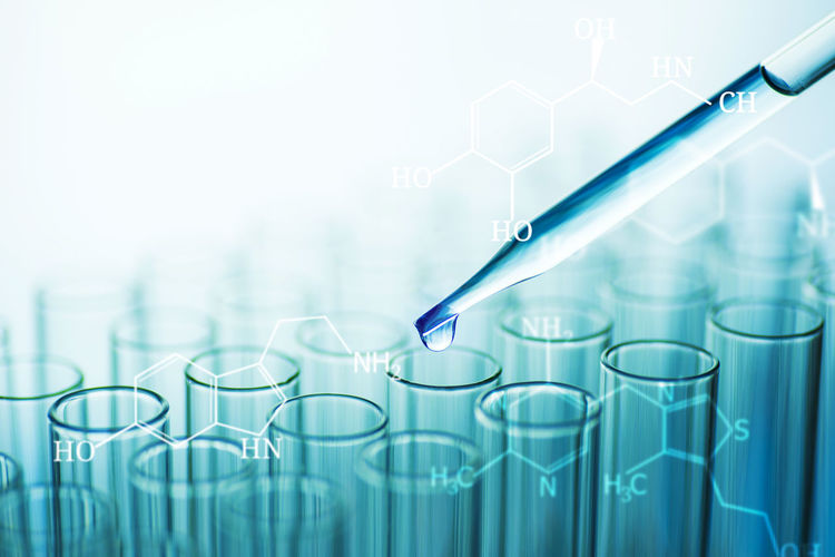 Analyzing Biochemistry Biology Biotechnology Blue Chemistry Close-up Drop Education Genetic Research Glass - Material Healthcare And Medicine Laboratory Medical Research No People Pipette Research Science Scientific Experiment Test Tube