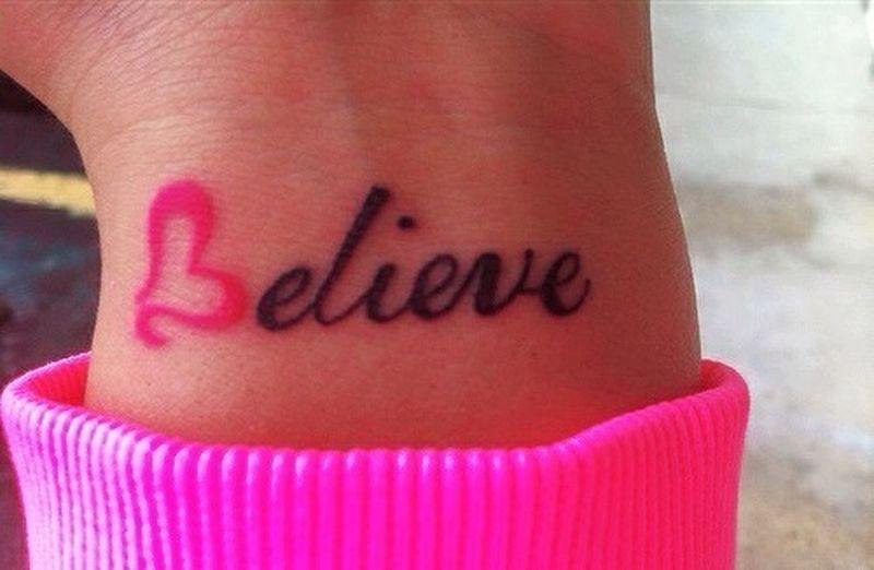 Believe ..